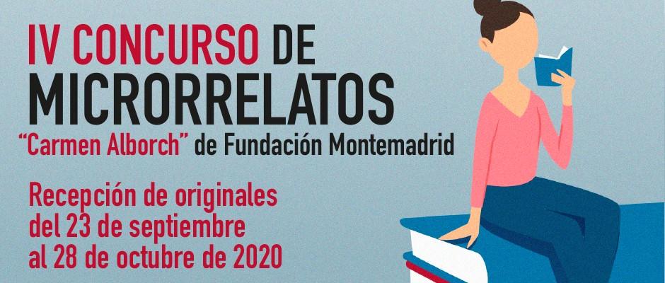 Concurso de microrrelatos Carmen Alborch de Fundación Montemadrid